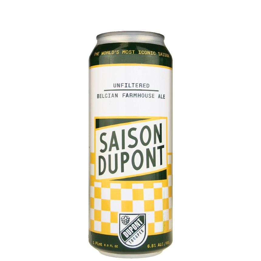Saison Dupont Farmhouse Ale 16.9 oz can
