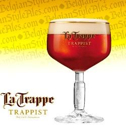 La Trappe Trappist Ale Beer Glass