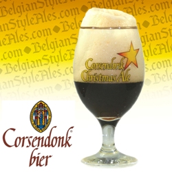 Corsendonk Christmas Ale Beer Glass
