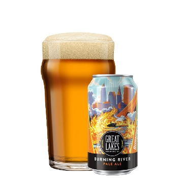Great Lakes Burning River Pale Ale (year-round)
