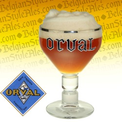Orval Trappist Ale Beer Glass