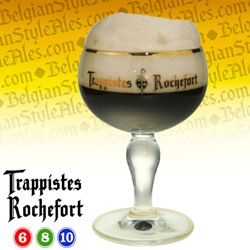 Rochefort Trappist Ale Beer Glass