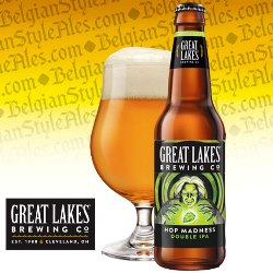 Great Lakes Hop Madness Double IPA (seasonal)
