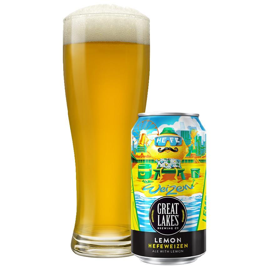Great Lakes Lemon Hefeweizen (seasonal)