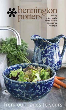 Bennington Potters catalog