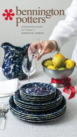 Bennington Potters Holiday 2019 Catalog