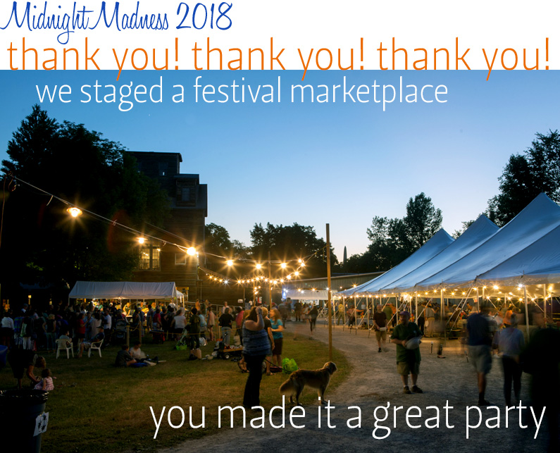 Thank you for Midnight Madness Sale 2018
