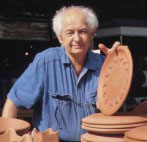 David Gil, master potter & founder of Bennington Potters