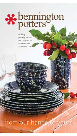 Bennington Potters Holiday 2018 Catalog