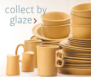 Shop stoneware pottery by glaze & Bennington Potters | Handmade Stoneware Dishes