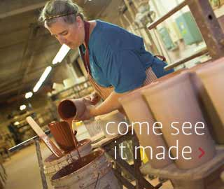 Visit Bennington Potters - Made in America Pottery