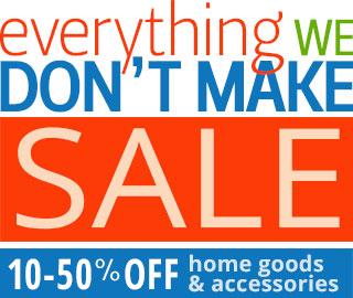 Bennington Potters Everything we DON'T Make Sale