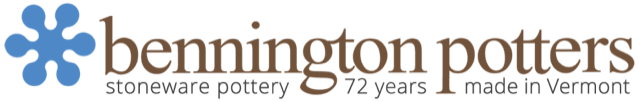 Bennington Potters - handmade stoneware pottery