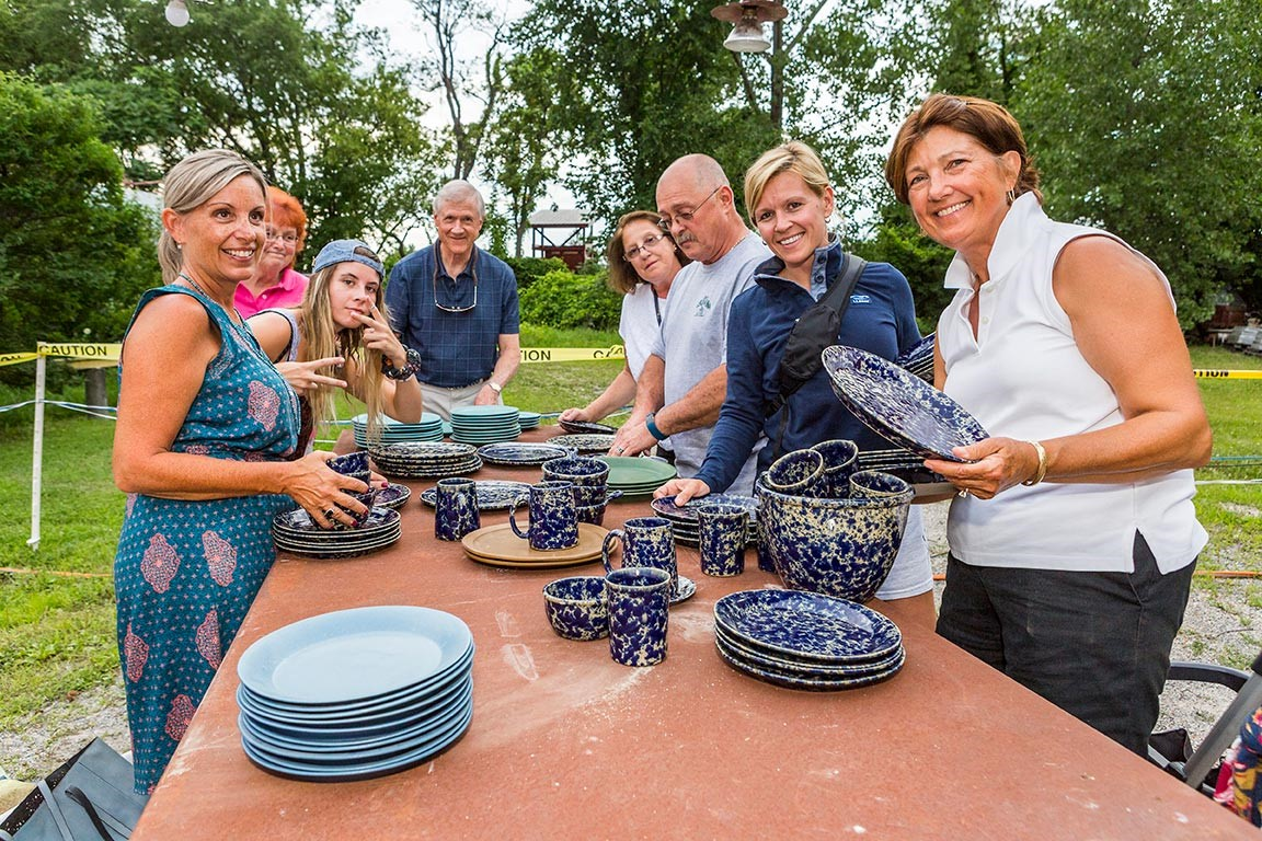 Midnight Madness Pottery Sale, Bennington Potters