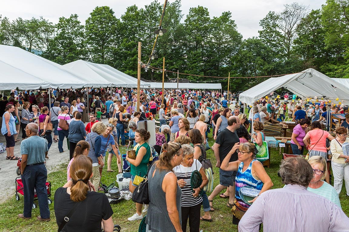 Bennington Vermont's huge Pottery Sale of the Year