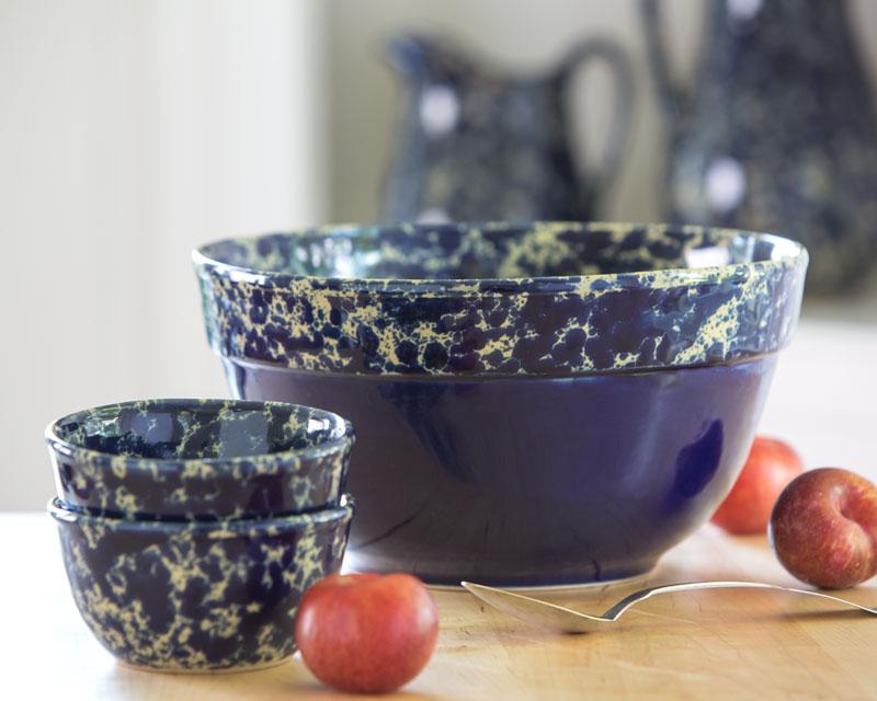 Farmhouse bowl stoneware serving bowl bennington potters