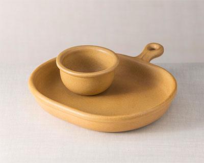 Bistro Plate & Crock Set