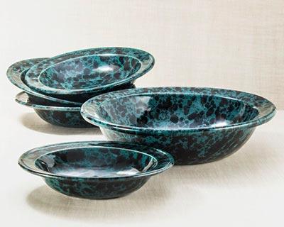 5-Piece Rimmed Serving Bowl Set