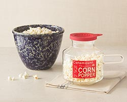 Large Mixing Bowl & Corn Popper Set