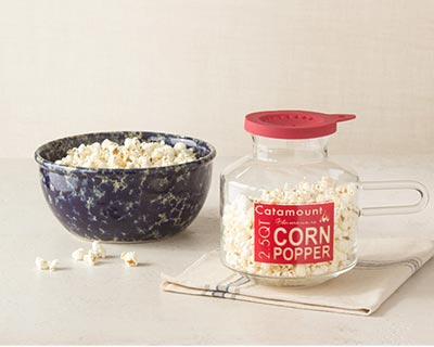 Harvest Bowl & Corn Popper Set