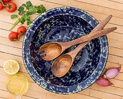 Acacia Wood Salad servers