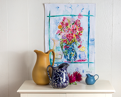 NEW! April Cornell Original - The Bennington Tea Towel