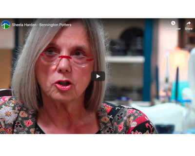 Sheela Harden, Bennington Potters CEO - video