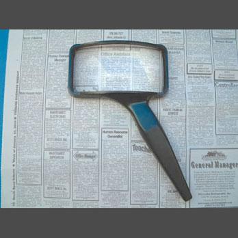 Aspheric Rectangular Magnifier