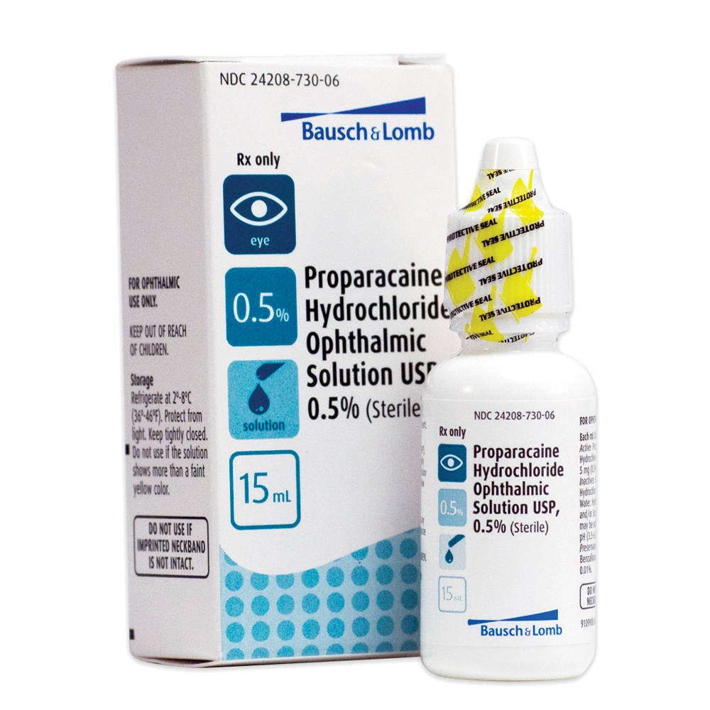 Proparacaine HCl 0.5%(15mL) Bottle