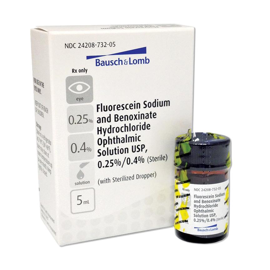 Fluorescein Sodium 0.25% & Benoxinate HCl 0.4% (5mL)