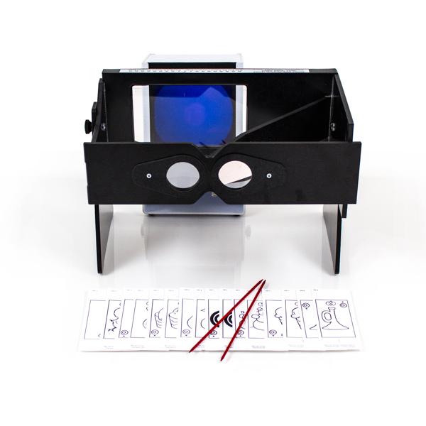 Single Oblique Mirror Stereoscope for MIT™