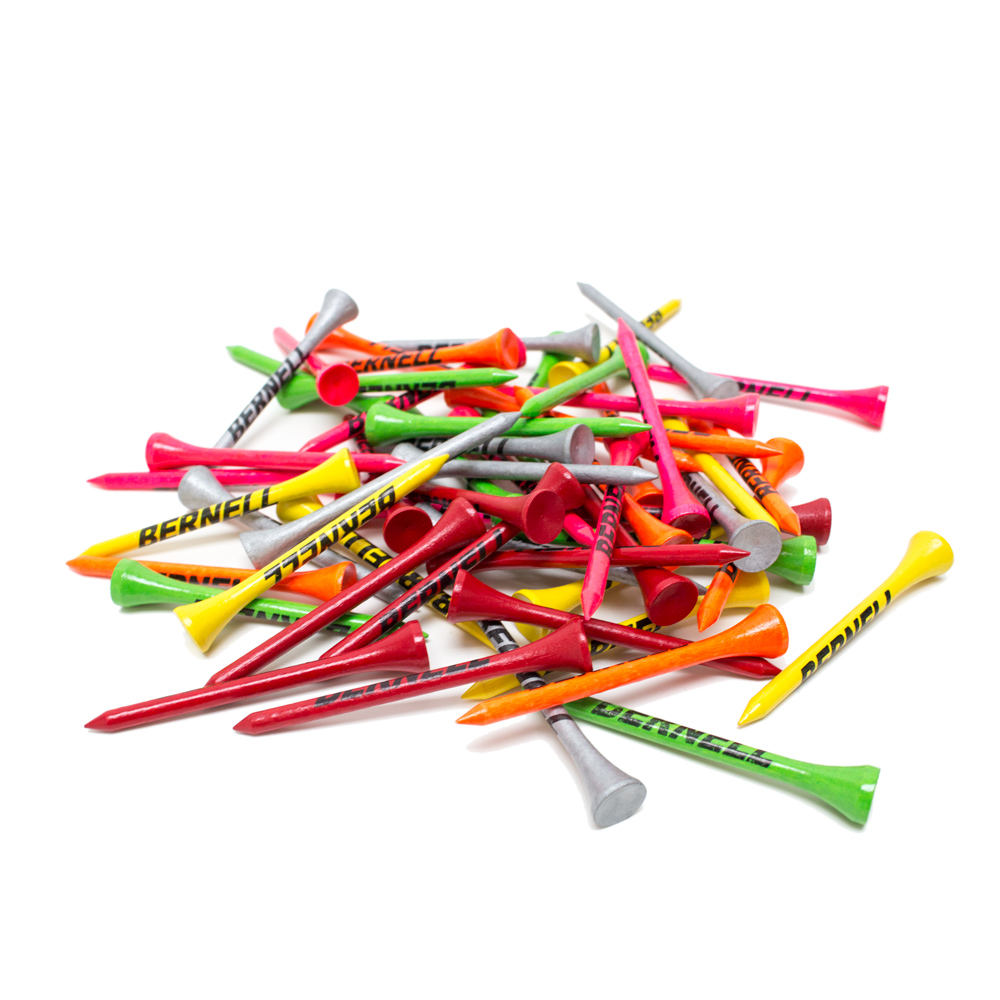 Golf Tees - Assorted Colors (Pkg. of 60)
