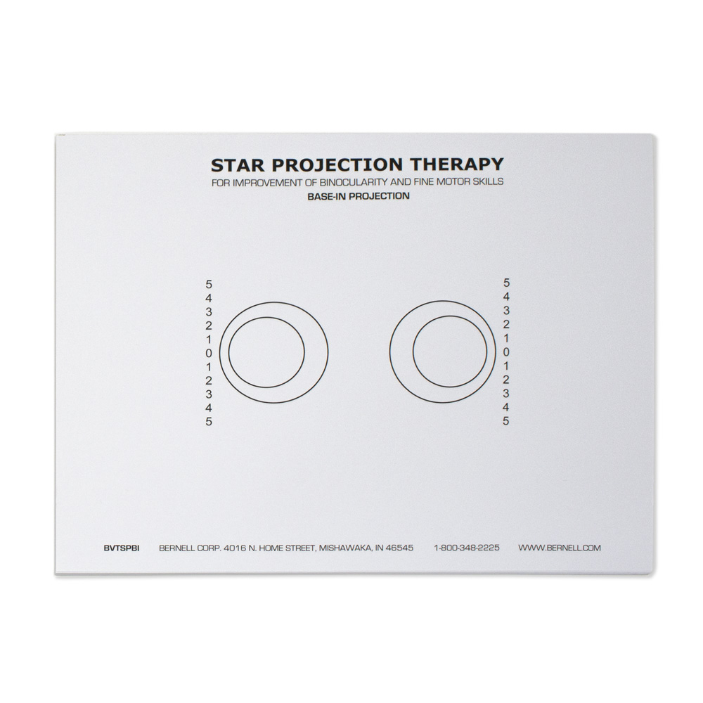 BVT Base-In Projection Sheets - Pad of 40