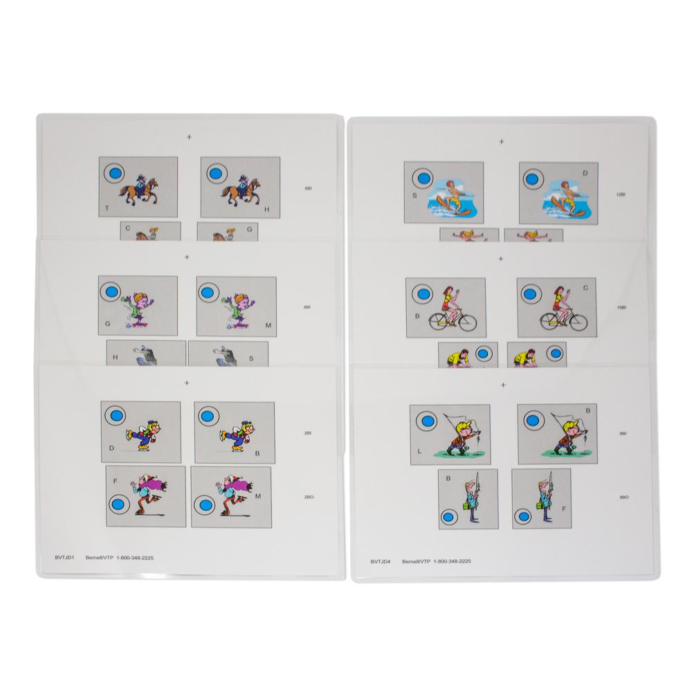 BVT Jump Duction -  Pkg. of 6 Color Sheets (Laminated)