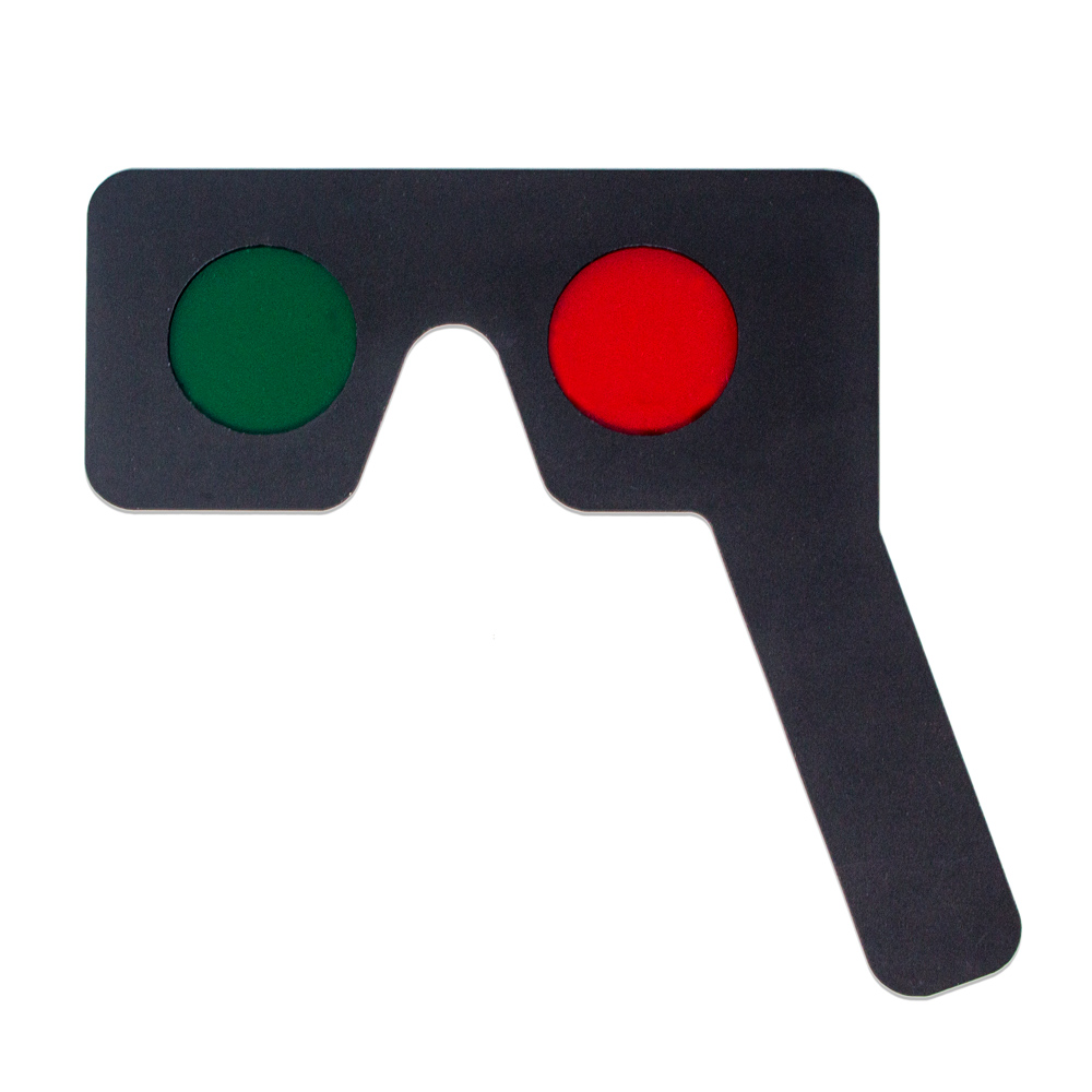 Red/Green Mask Occluder