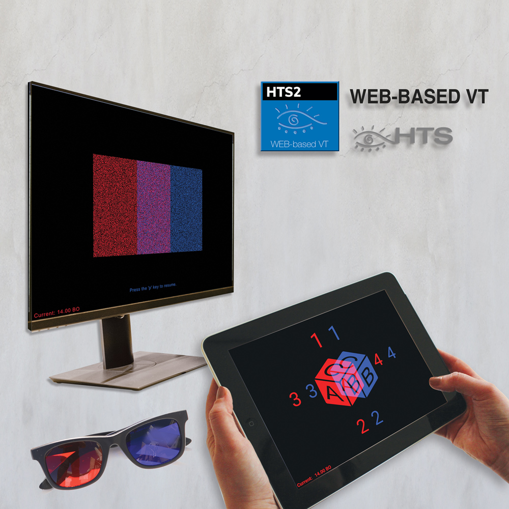 HTS2 - VT Computerized Binocular Home Vision Therapy Program