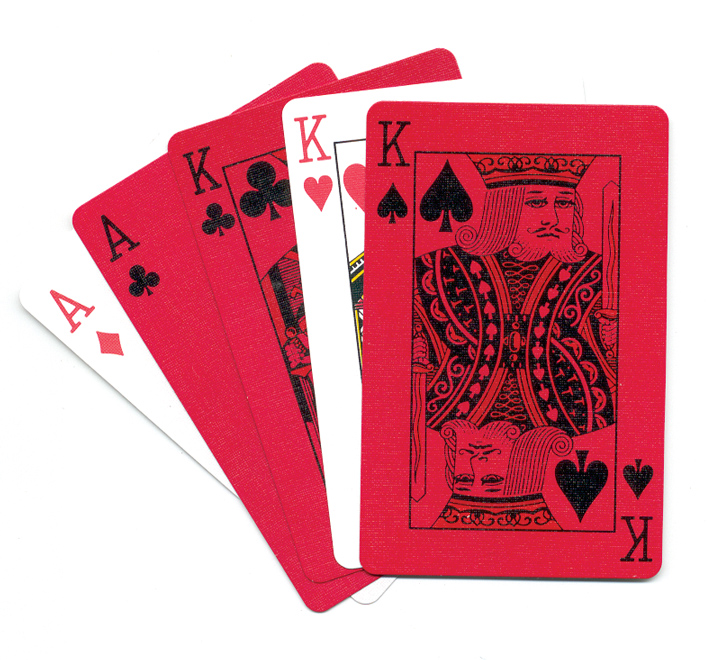 Sherman Red/Green Playing Cards