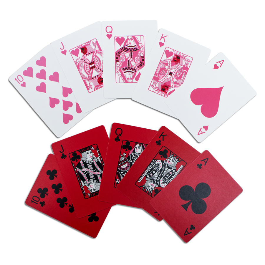 Red/Green Playing Cards (Bernell Version)