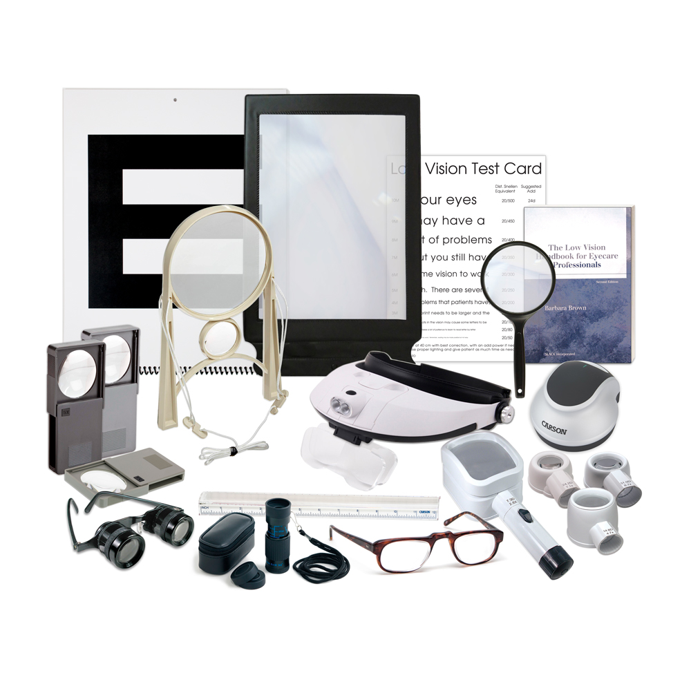 Bernell Low Vision Demonstration Kit