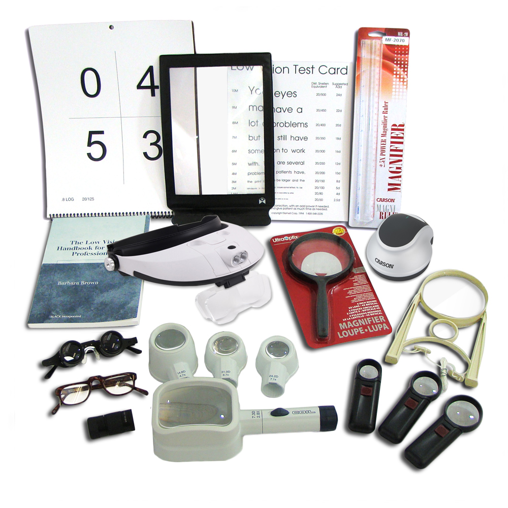 Bernell Low Vision Demonstration Kit