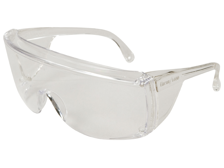Veratti® Tuff-Spec® 1400 Series Clear Frame, Clear Lens, Uncoated
