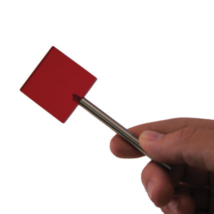 Red Filter on Stick (Maddox or No Maddox) - Red Filter on Stick - No Maddox