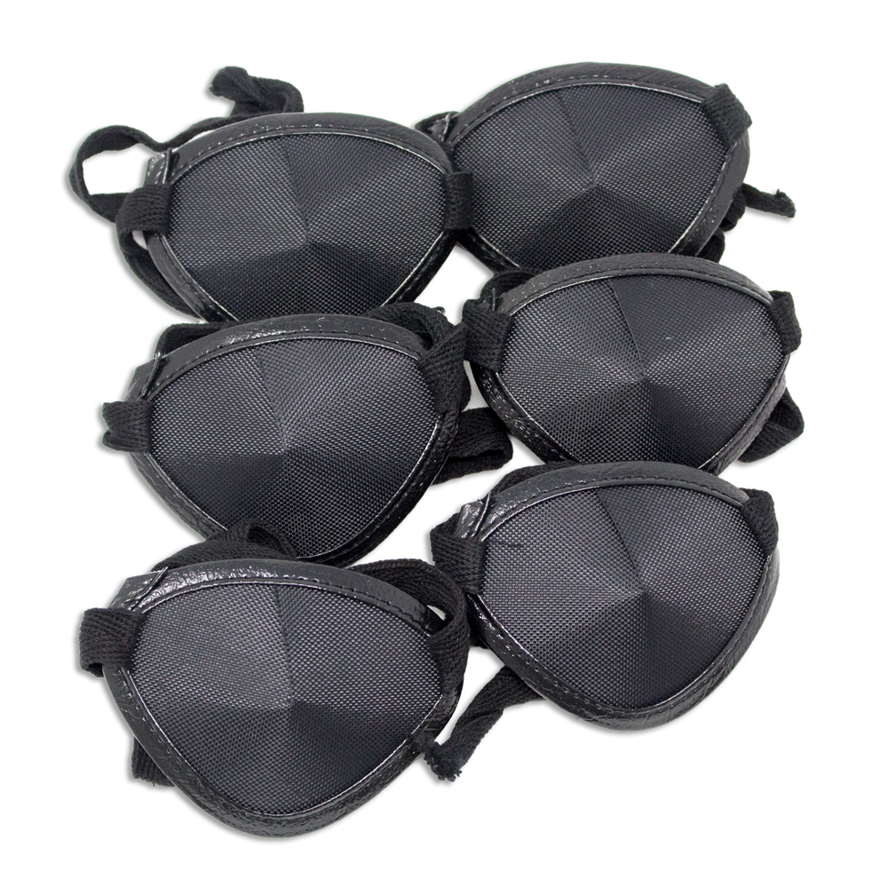 Eye Patches - Black Tie (Large) - Pkg of 6