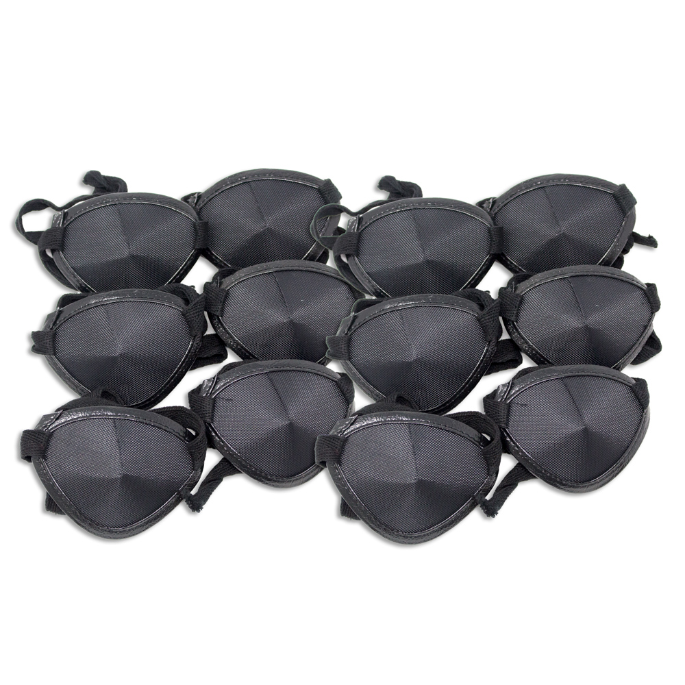 Eye Patches - Black Tie (Large) - Pkg of 12