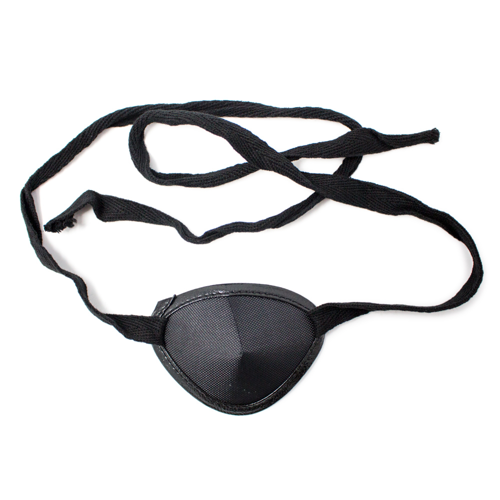 Eye Patches Black Tie (Large)