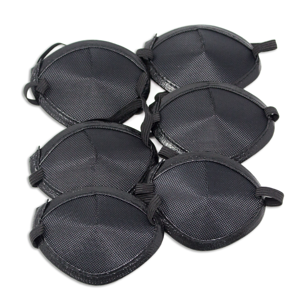 Eye Patches - Black Elastic (Small) - Pkg. of 6