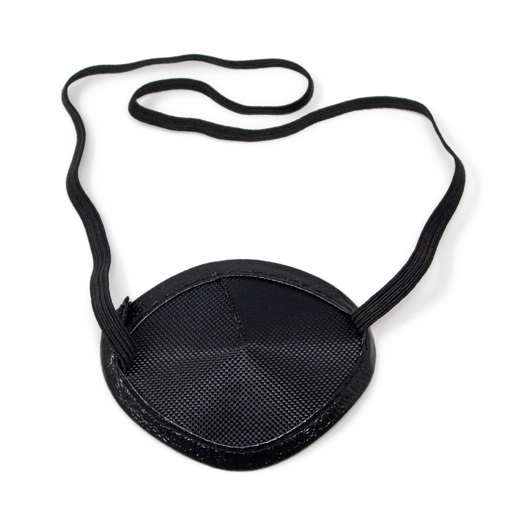 Eye Patches - Black Elastic (Small)