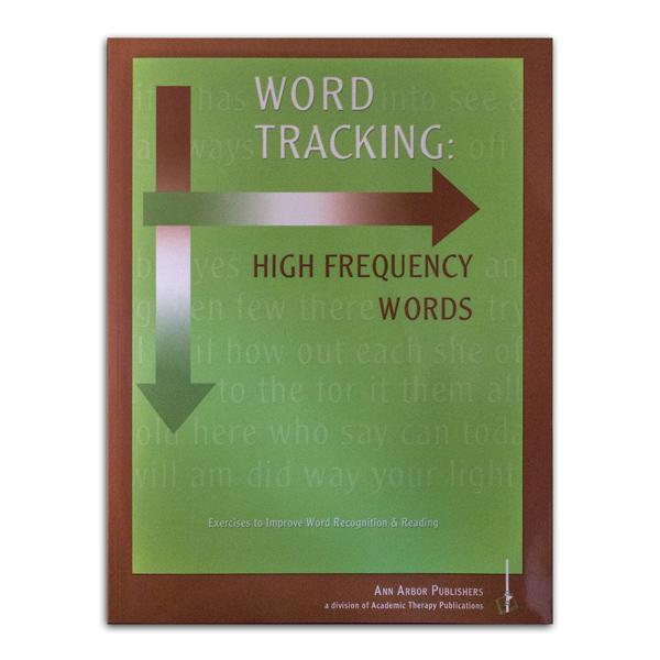 Ann Arbor Word Tracking Workbook
