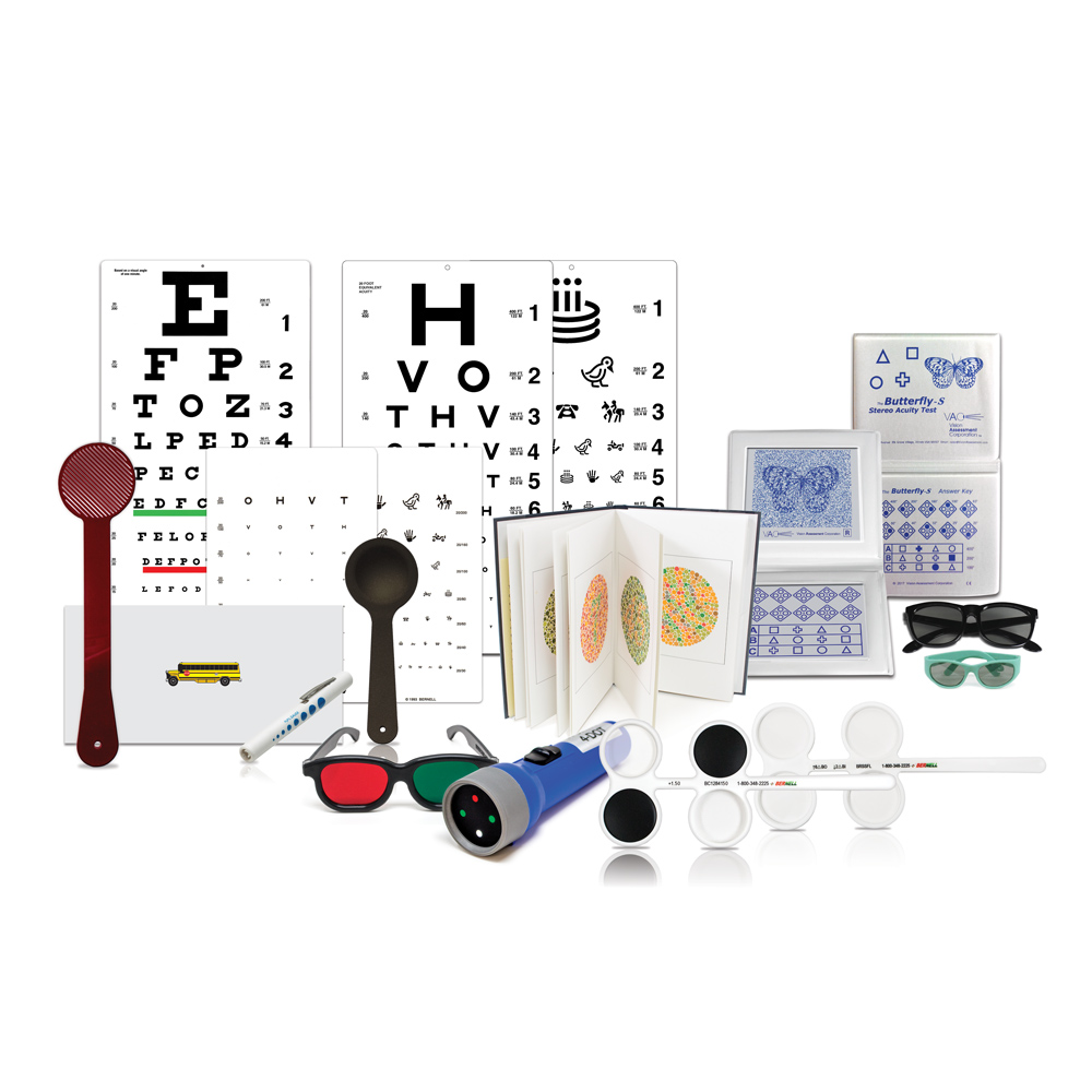 Bernell School Screening Battery Kit