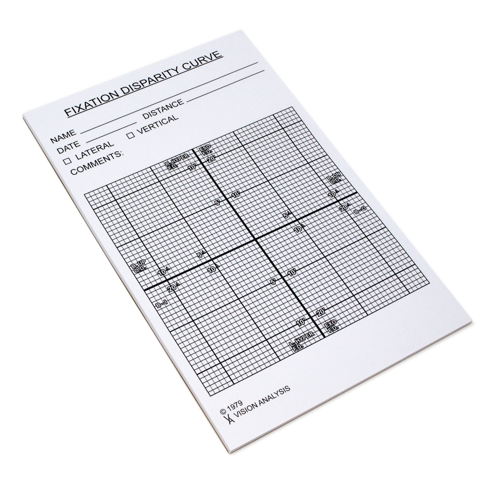 Vergence Graph - Pad of 25